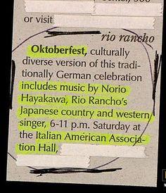 The most diverse Oktoberfest ever.
