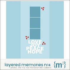 Layered Memories No. 004 - Digital Scrapbooking Templates DesignerDigitals