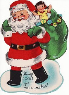 Always room for good wishes! Vintage Christmas Photos, Retro Christmas, Christmas Tag, Christmas Greeting Cards, Christmas Greetings, Christmas Decorations, Christmas Postcards, Christmas Things, Father Christmas