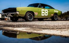 American Muscle Cars…  1968 Dodge Charger