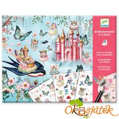 Take yourself on a fairyland adventure with the Djeco in fairyland rub-on transfers kit. This decal kit features 90 rub-on transfers and 3 Rub On Transfers, Dancing Drawings, Crafts For Kids, Arts And Crafts, Love Is, Glitter Art, Musical Toys, Science Experiments Kids, Fairy Land