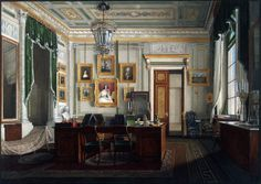 Interiors of the Winter Palace. Account Emperor Alexander