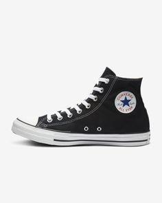 780de9a5bde459 Converse Chuck Taylor All Star High Top Unisex Shoe Black Size 9 Black High  Tops