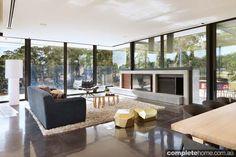 natural contemporary interior design
