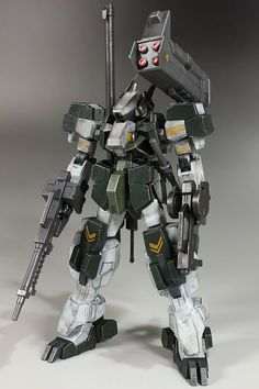 HG 1/144 Armored Graze Kai - Custom Build     Modeled by Hobby no Toriko