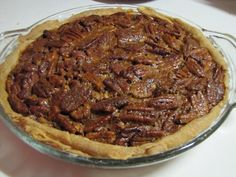 Easy Pecan Pie: The no-fuss crust is the key to Natural and Free's simple pecan pie.