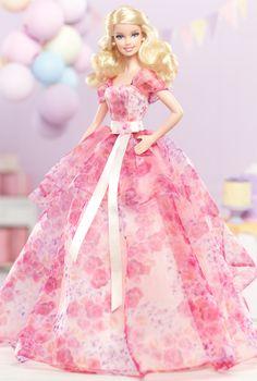 Birthday Wishes Barbie (Mattel 2013)