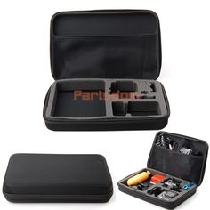 Larger Shockproof Carry Protective Bag Case for GoPro Hero 3 3 2 1 Accessories | eBay