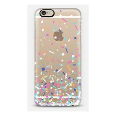 iPhone 6 Plus/6/5/5s/5c Case - Candy Confetti Explosion (€36) ❤ liked on Polyvore featuring accessories and tech accessories