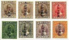 満州・中国や南方占領時代に発行された切手