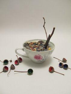 upcyling old porcelain// kabOOm Incense, Porcelain, Tableware, Repurpose, Porcelain Ceramics, Dinnerware, Tablewares, Dishes, Place Settings