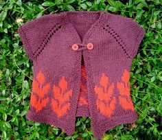I need to make this!! Though at the rate that I knit, it will end up being worn by a child born in 2015.