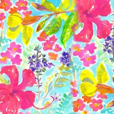 10% off and FREE shipping https://society6.com/product/bright-tropical-garden-g84_print#s6-4668372p4a1v45