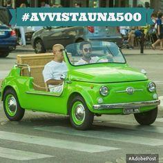 #avvistauna500 #cinquecento #fiat500 #fiat500nelmondo  (Fiat 500 by Totoffff)