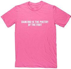HippoWarehouse Dancing is poetry of the foot unisex short sleeve t-shirt HippoWarehouse http://www.amazon.co.uk/dp/B00XMYY570/ref=cm_sw_r_pi_dp_bjA6vb15DGZGK
