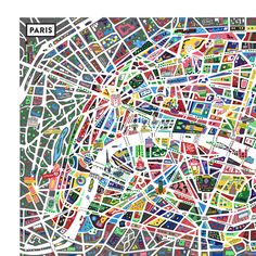 A map of Paris new ! - • Antoine Corbineau • Illustration, Art & Design •