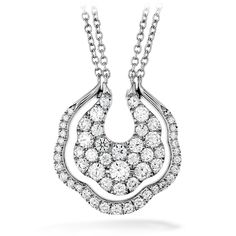 Lorelei Diamond Pave Necklace