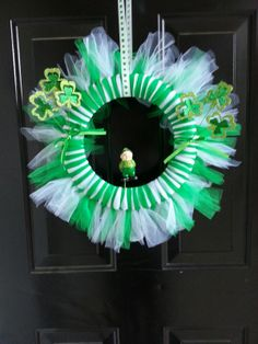 Tulle Kreations St Patrick's Wreath