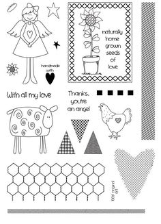 Photopolymer clear rubber stamps cardmaking Create and Craft TV £15.99