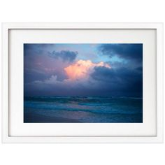 James Houston Design Nature Series 2014 - Ocean Series 2 Tulum 2013... ($660) ❤ liked on Polyvore featuring home, home decor, posters, blue home decor, blue home accessories, sea home decor y ocean home decor