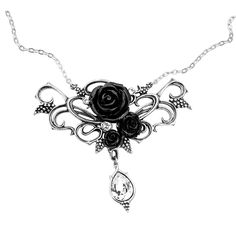 $50 Black Rose Vines by Alchemy Gothic