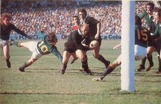 1976 All Black tour – Fourth test Sid Going try South African Rugby, All Blacks Rugby Team, New Africa, Real Man, Tours, Collection, Sport, Pictures, Sports
