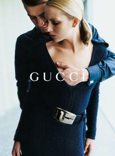 Georgina for Gucci, by Mario Testino, 1996