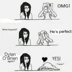 YES! #actor #people #famous #perfect #dylan obrien