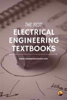 Interested in taking electrical engineering in college? Read this comprehensive guide to the best electrical engineering textbooks to get ahead. Engineering Symbols, Electrical Engineering Quotes, Engineering Classes, Engineering Colleges, Engineering Technology, Engineering Cake, Electrical Projects, Chemical Engineering, Electrical Wiring