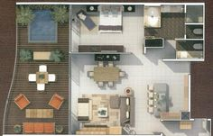 1 bedroom suite - SF with large kitchen and living room and plunge pool on balcony. All brand new buildings Riviera Maya Mexico, Plunge Pool, Vacation Destinations, Balcony, Buildings, Living Room, Bedroom, Kitchen, Swiming Pool