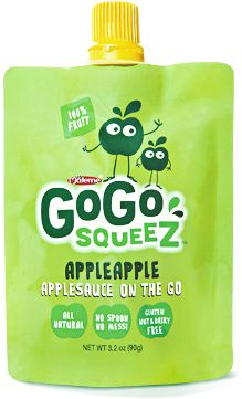 Recall - GoGo Squeez Applesauce Pouches/Possible Adulteration