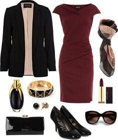 """""""Sophisticated Working Lady"""" by nazaretqp on Polyvore"""