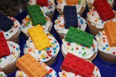 Say It Sweetly: LEGO Cupcakes - 02/19/2011