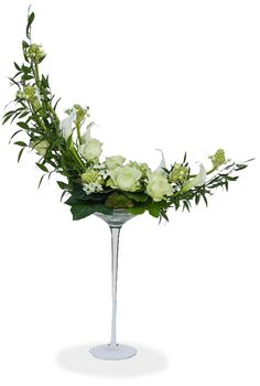 Celeste design with roses and calla lilies  Can be placed as a statement piece or with another to highlight something