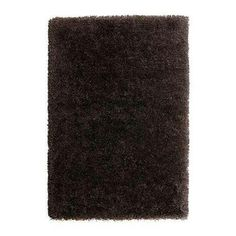 "Should find a x area rug to put down in livingroom. GÅSER rug, high pile, brown Length: 6 ' 5 "" Width: 4 ' 4 "" Surface density: 13 oz/sq ft Length: 195 cm Width: 133 cm Surface density: 4070 g. Gentlemans Quarters, Cottage Living, Living Room, Playroom Rug, Ikea Rug, Brown Rug, Dark Brown, Medium Rugs, New Condo"