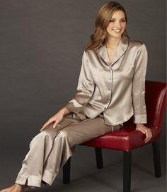 Pyjama en soie Natalya Exclusive chez inSilk