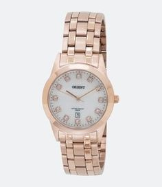 e18e1a77680 Relógio Feminino Orient FRSS1031 B1RX Analógico Calendário 5 ATM