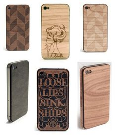 Lazerwood iPhone cases