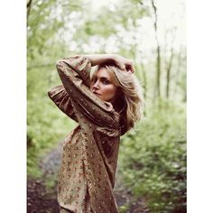 Sophie Dahl Enters the Wilderness for Aubin & Wills' F/W 2012 Campaign... ❤ liked on Polyvore
