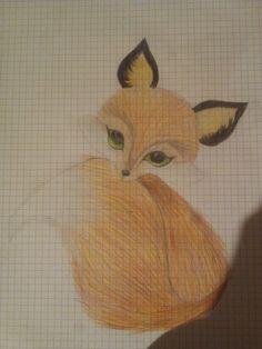 #fox #lis #trochę #trudne #ołówkiem #zneta