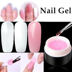 Fibernails Building Gel Fiberglass for Nail Extension Acrylic Nails Tips Set Acrylic Nail Tips, Acrylic Nail Designs, Cure Nails, Gel Nails, Nail Extensions Acrylic, Fiberglass Nails, Abc Crafts, Professional Nail Art, Diamond Nails