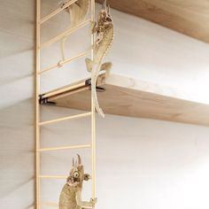 String - String Soft Wall Shelving Birch and Skin Colour 1949 | Panik Design