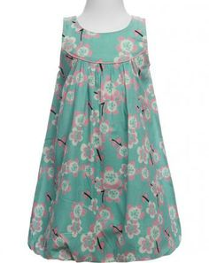 Kleid FLOWERS in mint