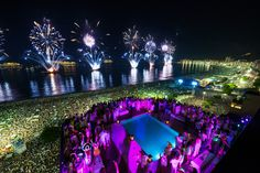 Celebrate New Year's Eve in style, on the beaches of #Rio with our exclusive Holiday Season travel packages. #travel #tt #Brazil