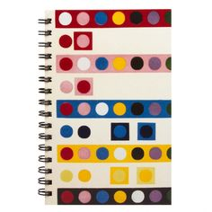 19th Century French Dot Pattern Sketchbook