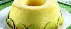 Receita de Pudim de limão chic