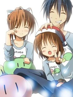Clannad After Story. U have to watch Clannad first, then the after story, its sad ; Manga Anime, Sad Anime, I Love Anime, Awesome Anime, Vocaloid, Clannad Anime, Dango Clannad, Clannad After Story, The Ancient Magus Bride
