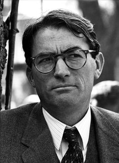 gregory peck as Atticus Finch, To Kill A Mockingbird one of my all time favorite characters and father figures! Brilliant!