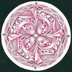 Enthusiastic Artist: Zendala tiles in color
