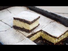 Φτηνό κέικ με καρύδα και σιμιγδάλι / θα το έκανα κάθε μέρα - YouTube Sweet Cakes, Food Design, No Bake Cake, Tofu, Tiramisu, Baking Recipes, Cheesecake, Deserts, Sweets